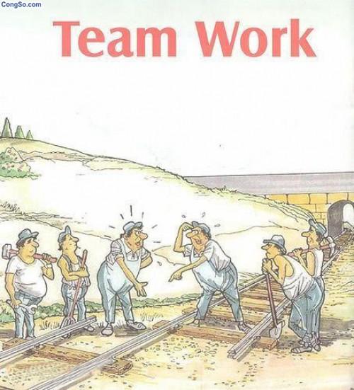 Làm việc nhóm không hiệu quả