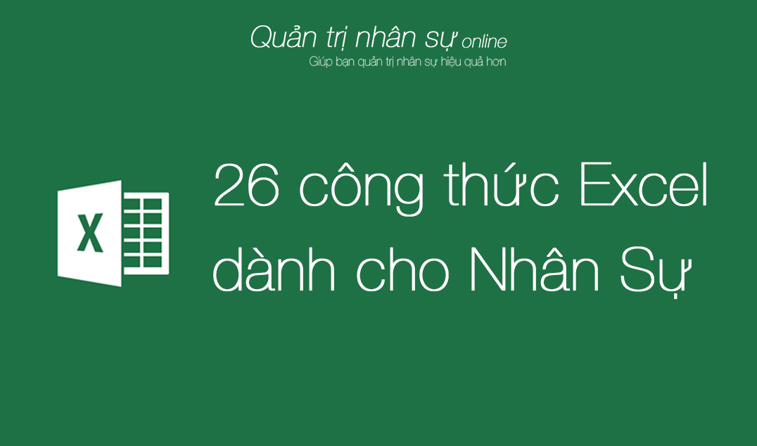 cong thu excel