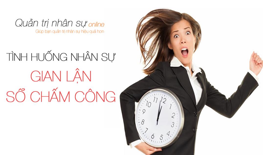 gian lan cham cong