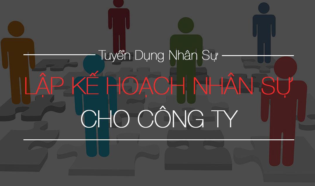 LAP KE HOACH NHAN SU