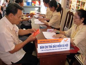 Chế độ hưu trí theo quy định của Luật BHXH năm 2014