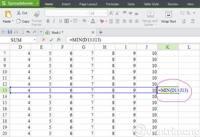 Những hàm cơ bản nhất trong Excel 4
