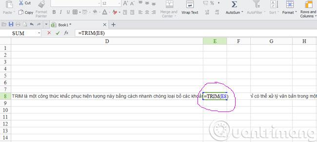 Những hàm cơ bản nhất trong Excel 5
