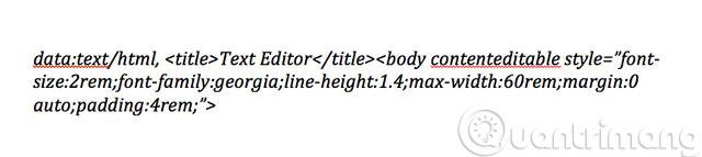 Biến một cửa sổ trình duyệt thành công cụ chỉnh sửa văn bản