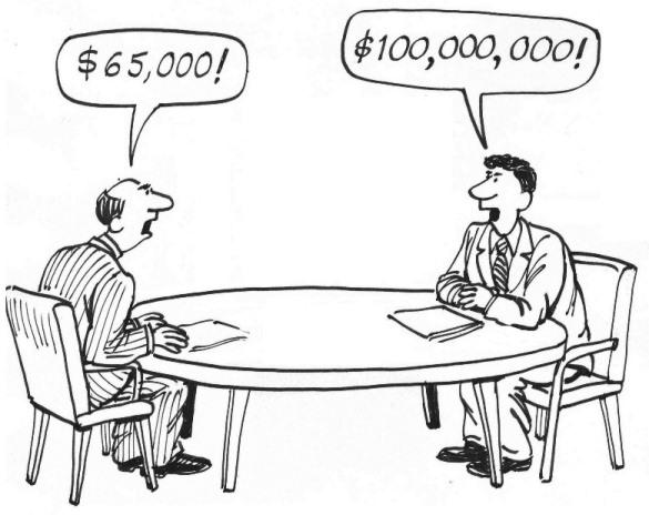 Vì sao một số công ty không cho ứng viên thương lượng lương