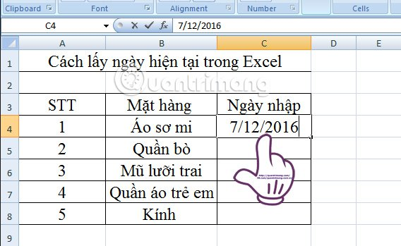 Excel-chen-ngay