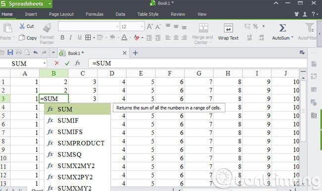 Excel-chon-sum