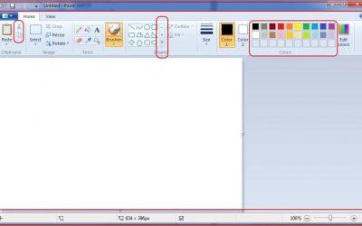 Tổng hợp các phím tắt sử dụng trên công cụ Paint