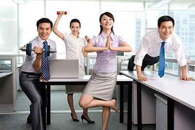 Những mẹo vặt về sức khỏe tốt cho dân văn phòng