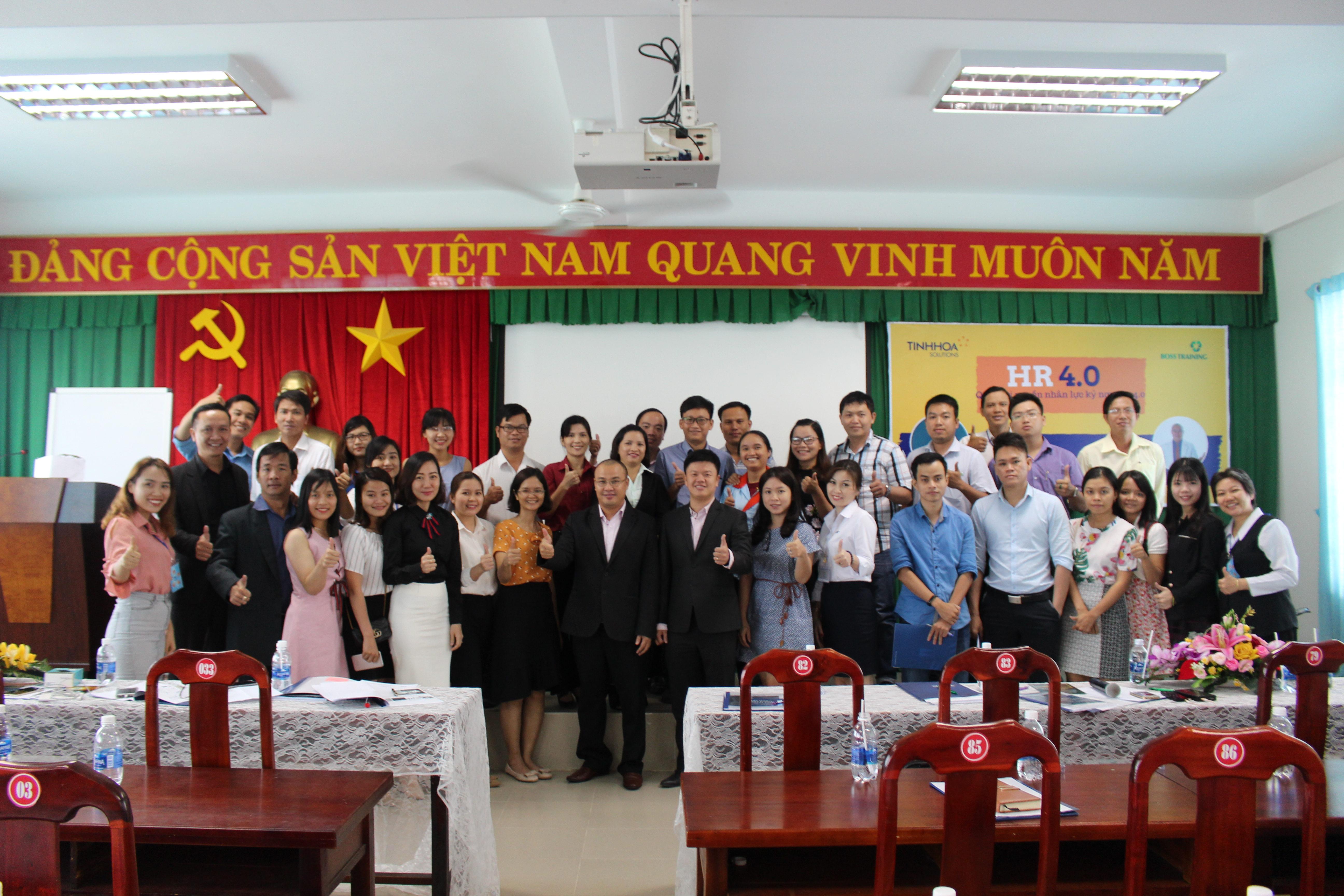 Hội thảo HR 4.0 Quản lý nguồn nhân lực kỷ nguyên 4.0 tại Nhơn Trạch, Đồng Nai