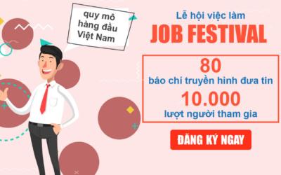 LỄ HỘI VIỆC LÀM JOB FESTIVAL 2019