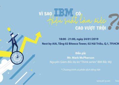 Workshop: Giải mã vì sao IBM có hiệu suất làm việc cao vượt trội