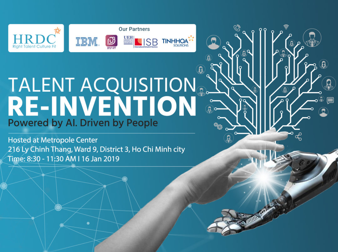Hội thảo: Talent Acquisition Re-invention Powered by AI. Driven by People