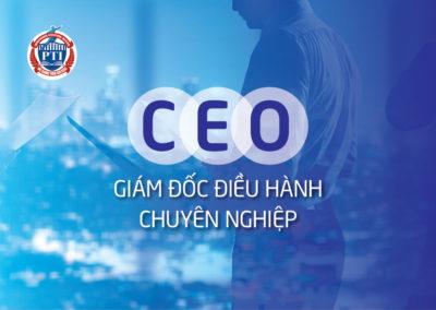 CEO – GIÁM ĐỐC ĐIỀU HÀNH CHUYÊN NGHIỆP