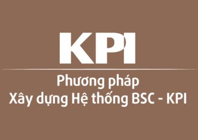 Phương pháp xây dựng hệ thống BSC – KPI