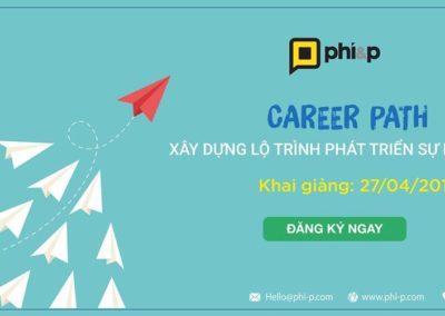Khóa học: Career Path – Xây dựng lộ trình phát triển sự nghiệp